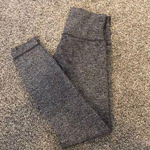 lululemon gently used grey leggings!
